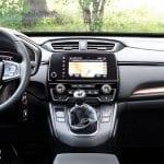 Prueba Honda CR-V detalles salpicadero