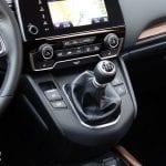 Prueba Honda CR-V palanca de cambios