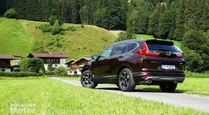 Prueba Honda CR-V plazas traseras