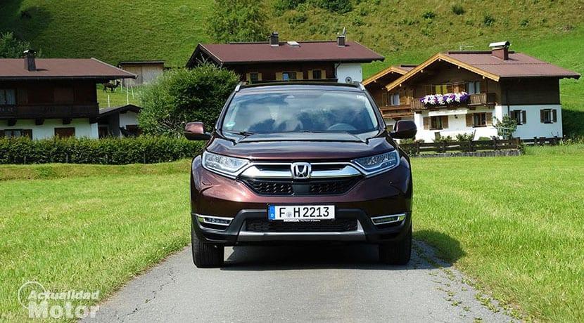 Prueba Honda CR-V frontal