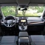 Prueba Honda CR-V diseño salpicadero