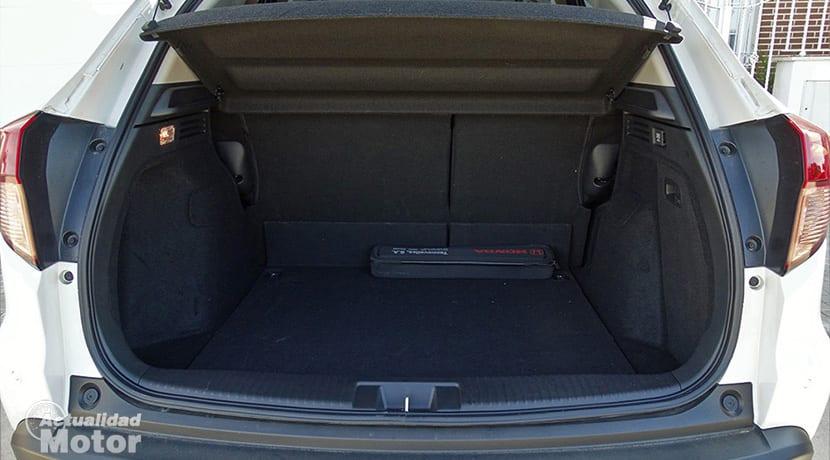 Prueba Honda HR-V maletero