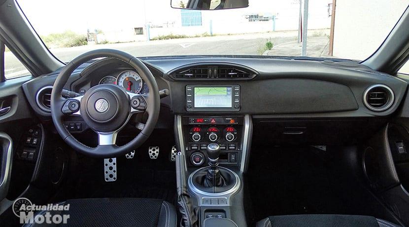 Prueba Toyota GT86 interior