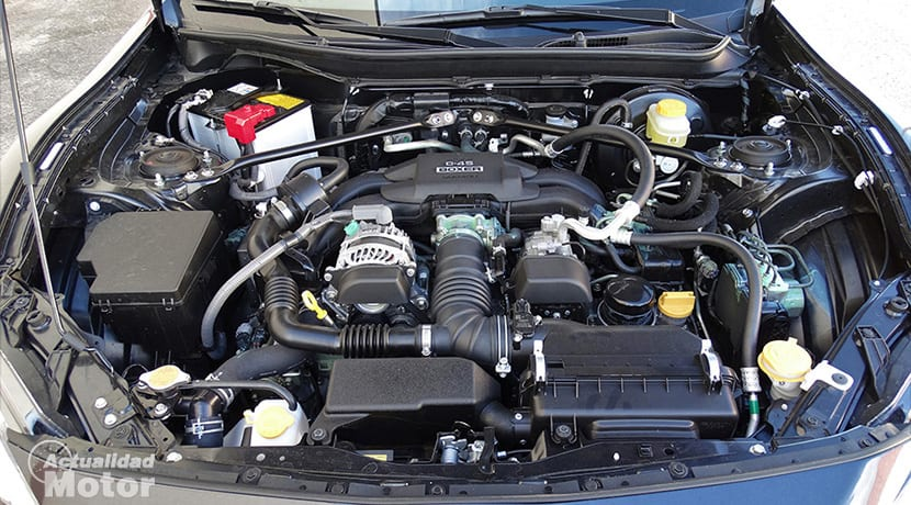 Prueba Toyota GT86 motor bóxer