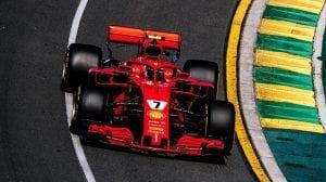 Raikkonen en el Ferrari