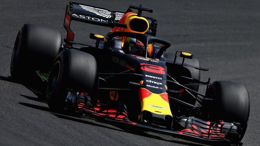 Red Bull de Ricciardo de 2018