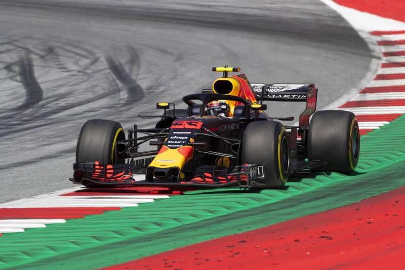 Red Bull en Silverstone 2018