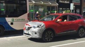 Renault Kadjar 2019 cazado camuflaje