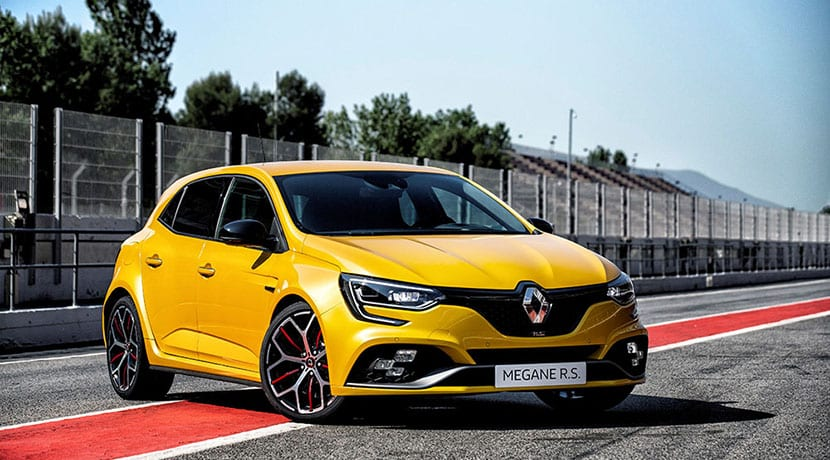 Renault Mégane RS Trophy perfil
