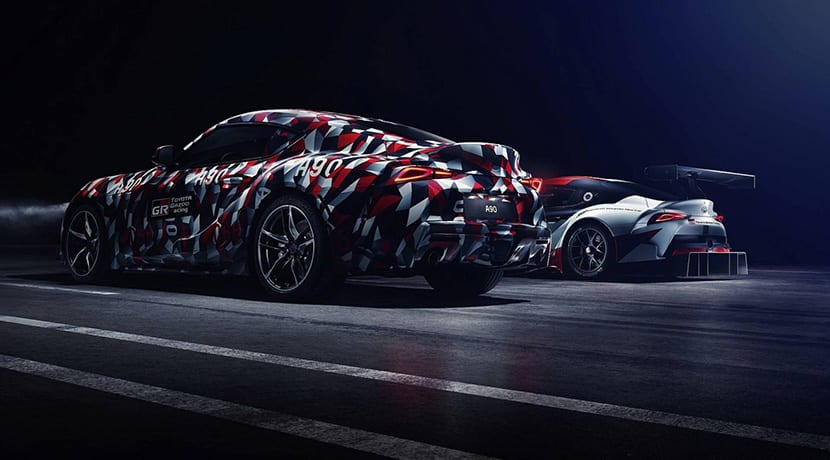 Teaser del Toyota Supra