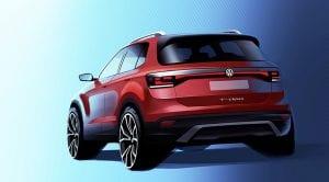 Teaser del Volkswagen T-Cross