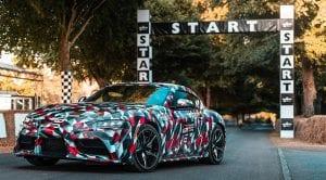 El Toyota Supra debuta en Goodwood