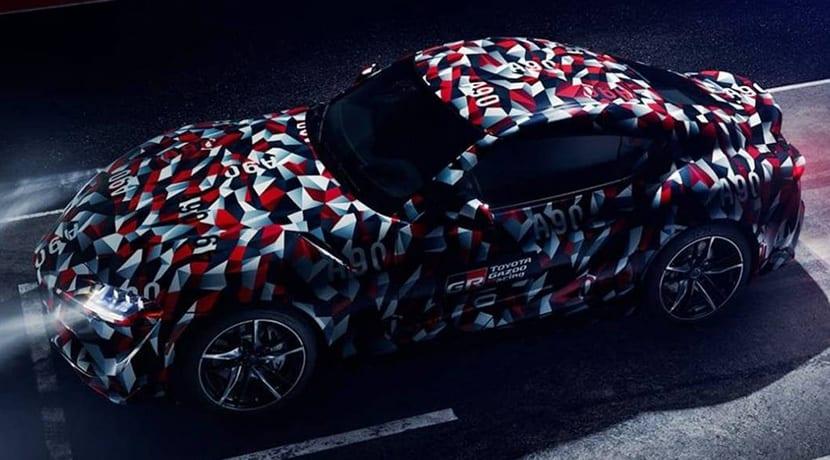 Toyota Supra debutará en Goodwood