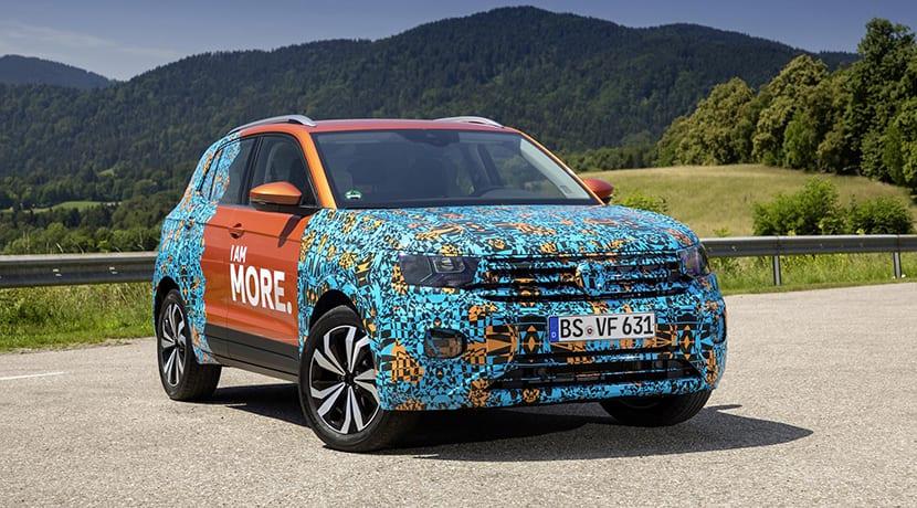 Volkswagen T-Cross camuflado