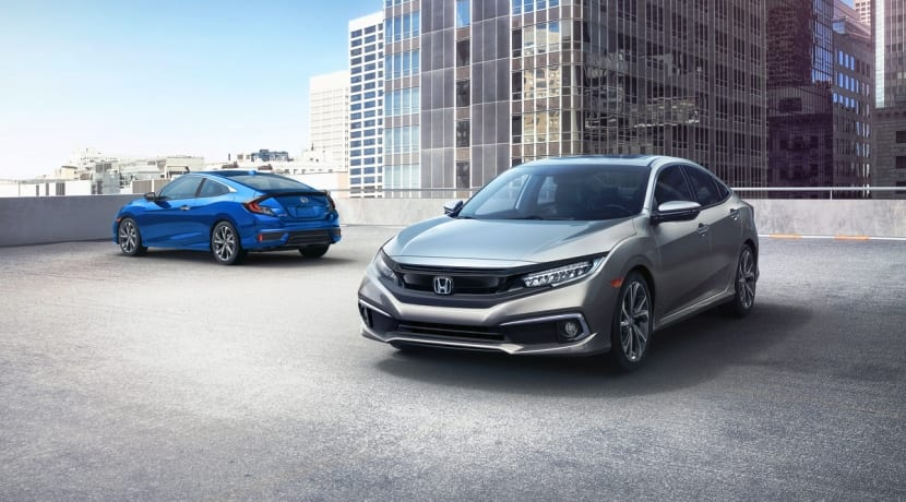 Honda Civic Coupe Sport 2019