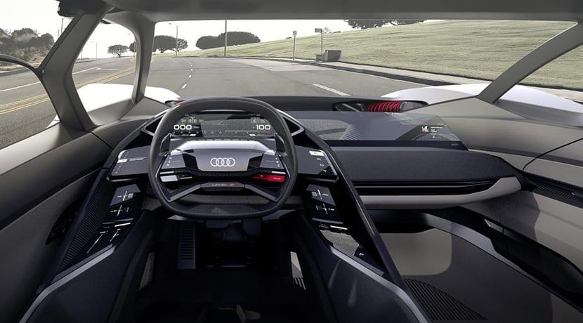 Audi PB18 e-tron prototipo interior