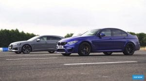 Audi RS 4 Avant vs BMW M3 CS