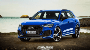 Recreación del Audi RS Q3