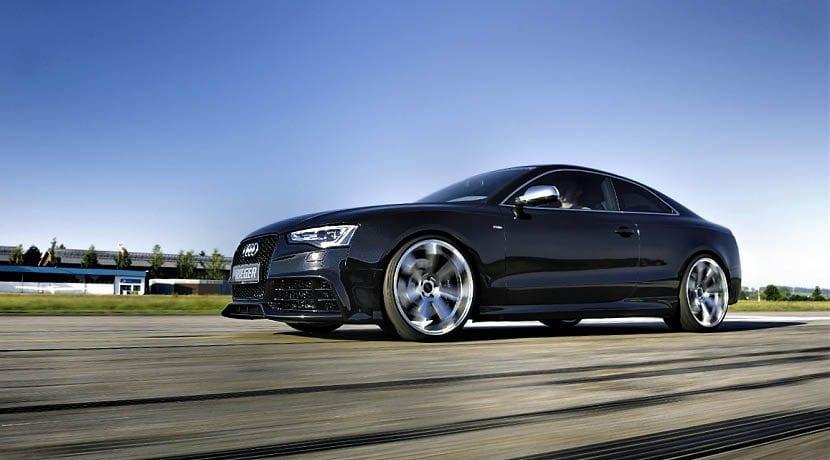 Audi S5 convertido en eléctrico con piezas de Tesla