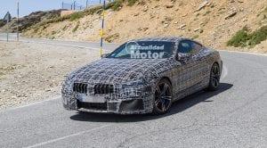 Foto espía del BMW M8