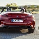 BMW Z4 trasera