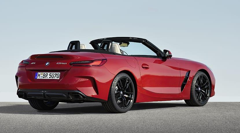 BMW Z4 perfil trasero