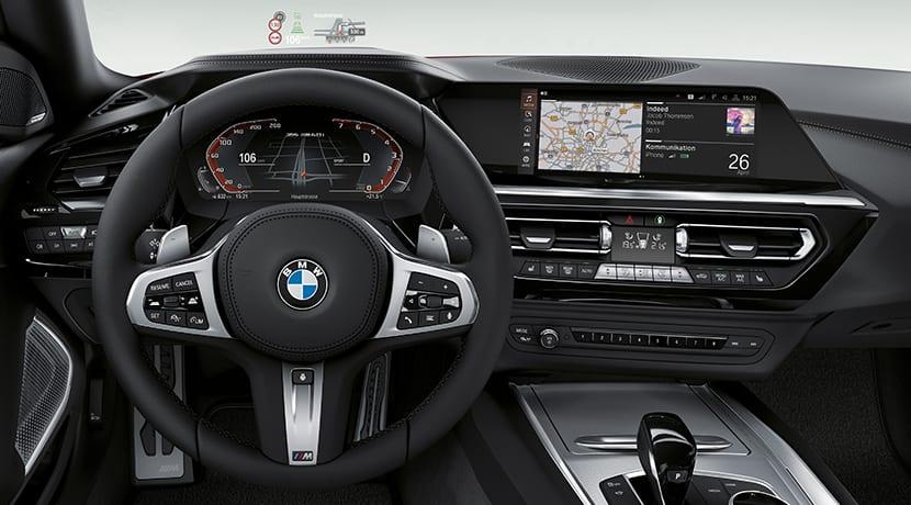 BMW Z4 diseño salpicadero