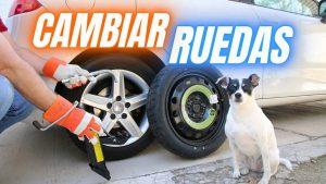 Cómo cambiar rueda coche
