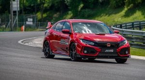 Honda Civic Type R récord en Hungaroring