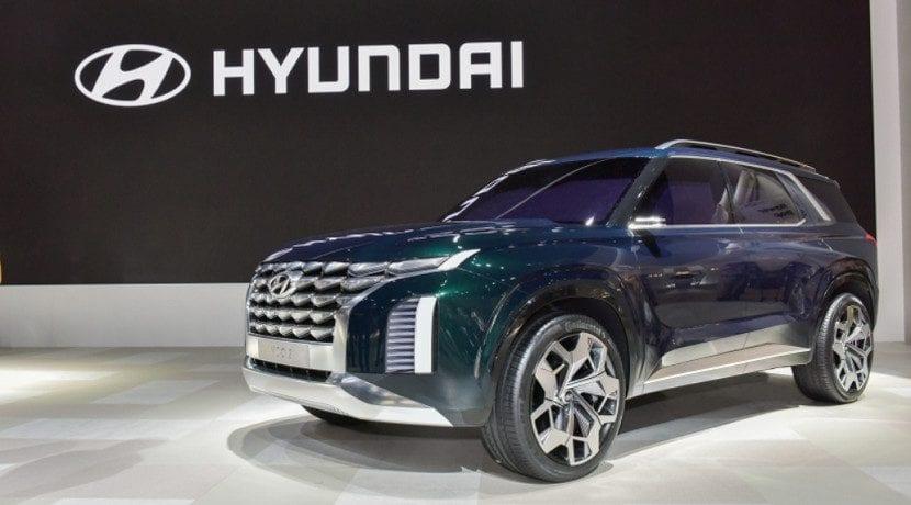 El Hyundai Grandmaster SUV Concept es otro de los esbozos de la marca para mejorar su diseño
