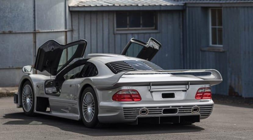 Mercedes AMG CLK GTR a subasta