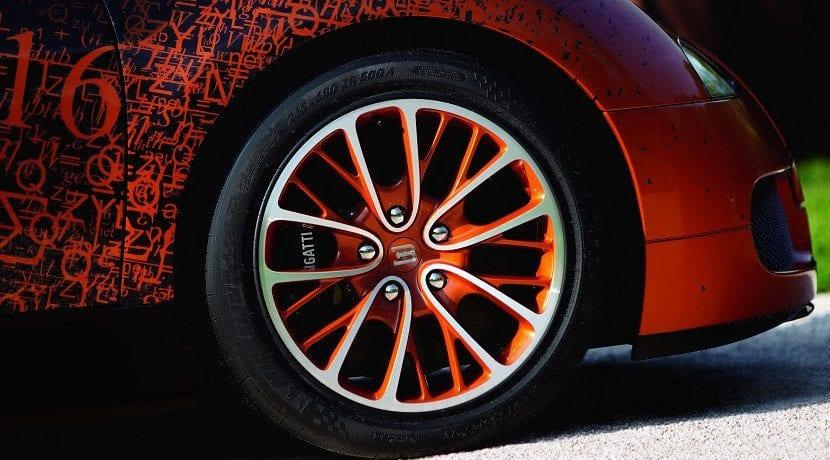 Neumáticos Michelin para el Bugatti Veyron