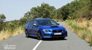 Prueba Subaru WRX STi perfil delantero