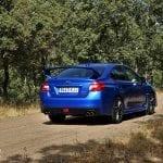 Prueba Subaru WRX STi Rally Edition exterior