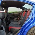 Prueba Subaru WRX STi Rally Edition interior