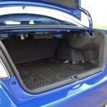Prueba Subaru WRX STi Rally Edition maletero