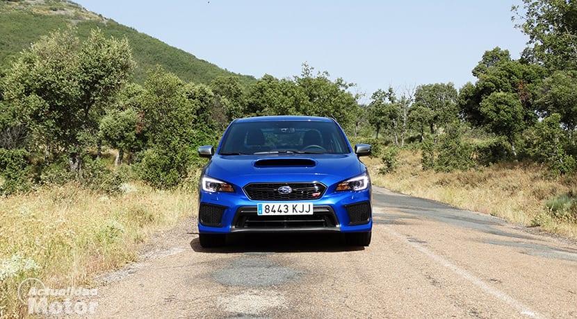 Prueba Subaru WRX STi frontal
