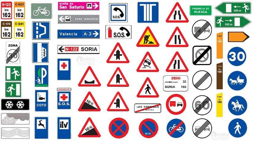 Señales de tráfico en España