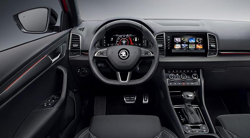 Skoda Karoq Sportline Digital Cockpit