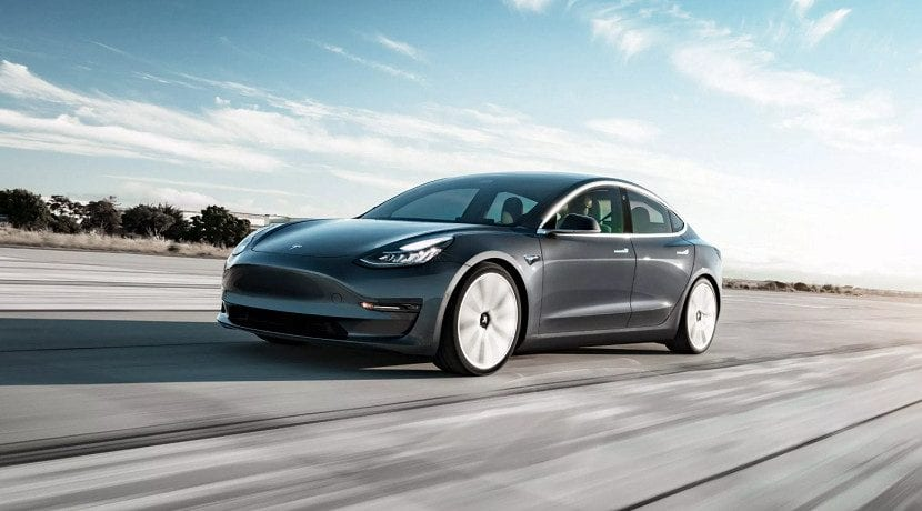 Aceleración del Tesla Model 3 Performance