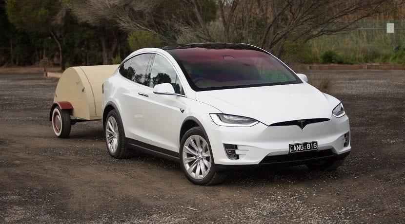 Tesla Model X Party & Camper