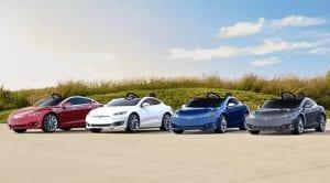 Mini coche de Tesla