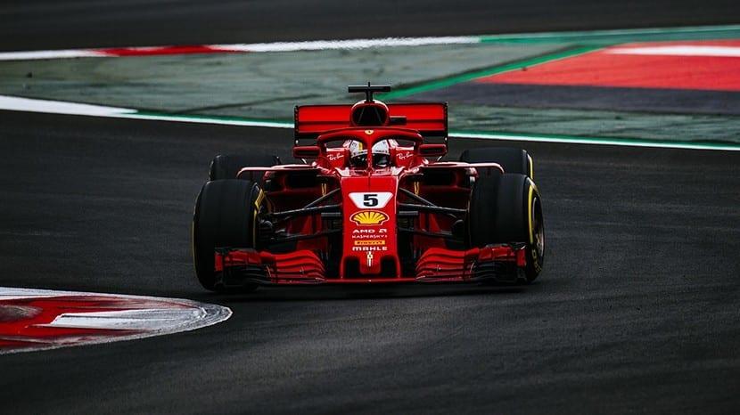 Vettel - Ferrari - 2018