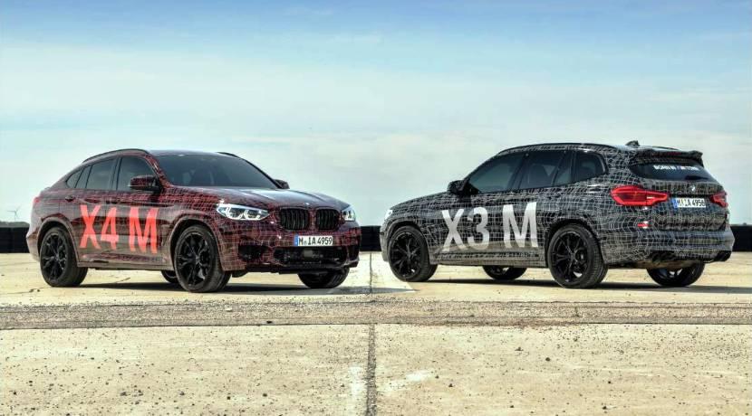 BMW X3M - BMW X4M