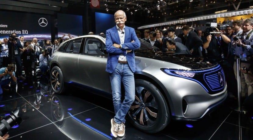 Dieter Zetsche - Daimler AG - Mercedes-Benz EQC
