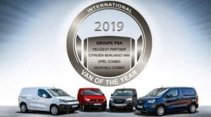 Grupo PSA International Van of the Year 2019