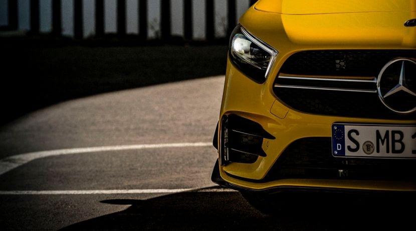 Mercedes-AMG A35 teaser