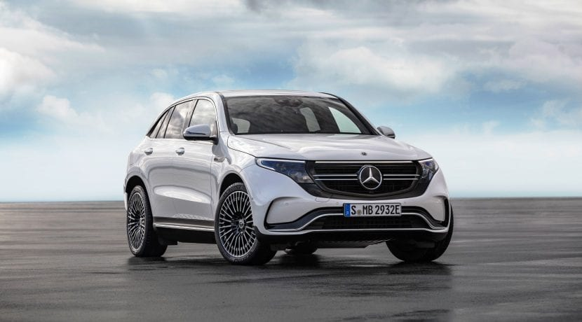 Coches eléctricos de 2019 Mercedes EQC