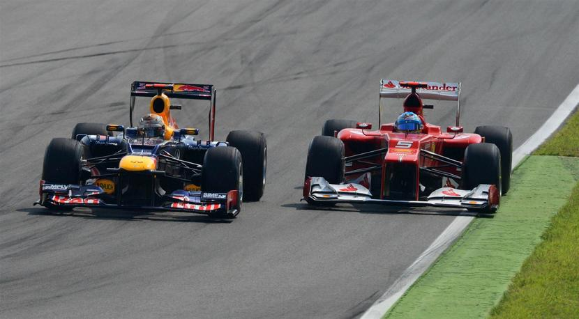 Vettel vs Alonso Red Bull vs Ferrari
