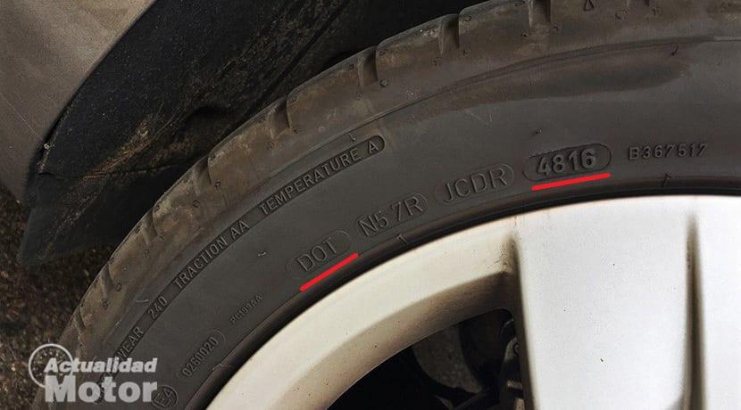 DOT Neumático